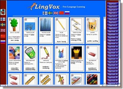 Lingvox - free language teaching learning program Lingvox ilmainen kielen opetus ja opiskelu ohjelma